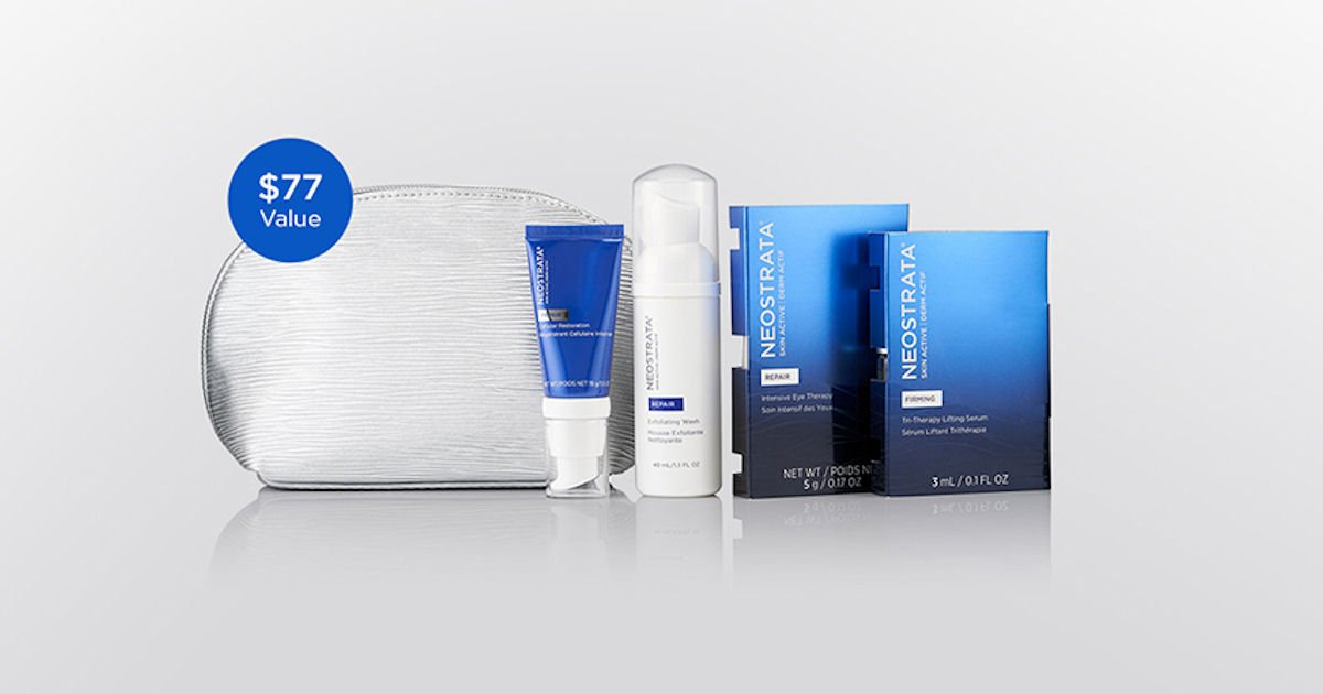 Free NEOSTRATA Antiaging Sample Pack