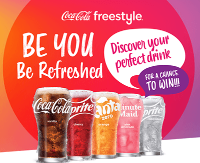"Coca-Cola ""Be You Be Refreshed"" Instant Win Game (203 Winners!)"