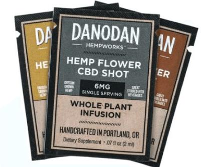 FREE Danodan Hemp Flower CBD Shot Samples