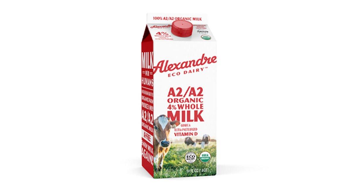 Free Alexandre Eco Dairy Regenerative Organic A2/A2 Whole Milk