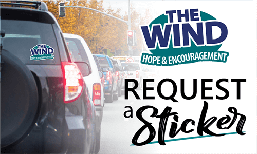 FREE The Wind Window Decal