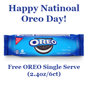 FREE Oreo Single Serve at Pilot Flying J Travel Centers