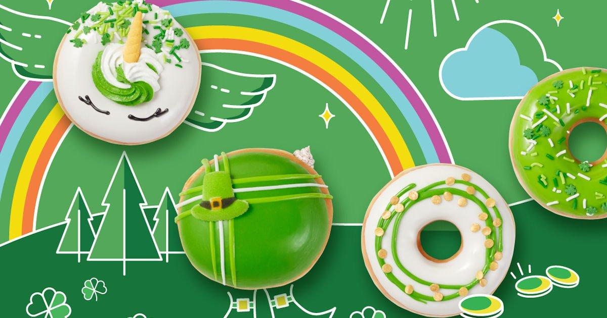Free Donut at Krispy Kreme on 16th & 17th