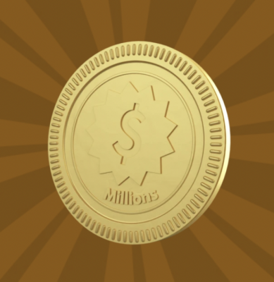 Free Gold Coin or Millions Chocolate Coin