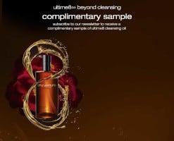 FREE Shu Uemura Ultime8 Cleansing Oil Sample