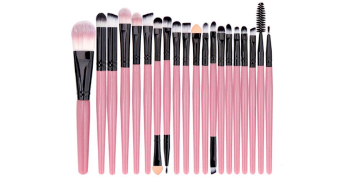 Possible Free 20 Piece Mini Professional Brush Makeup Set
