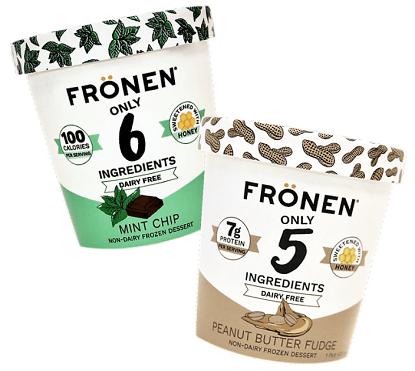 FREE Pint of Frönen Dairy Free Nice Cream (Limited Supply)