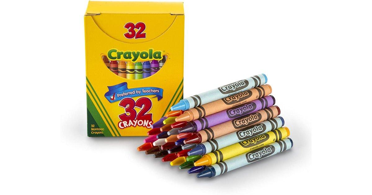 Free Box of Crayons at Crayola Stores - Select States
