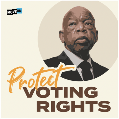 "free ""John Lewis - Protect Voting Rights"" sticker"