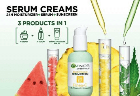 FREE Garnier Green Labs Serum Cream Sample