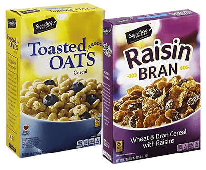 FREE Signature Toasted Oats or Raisin Bran at Albertsons and Affiliate Stores