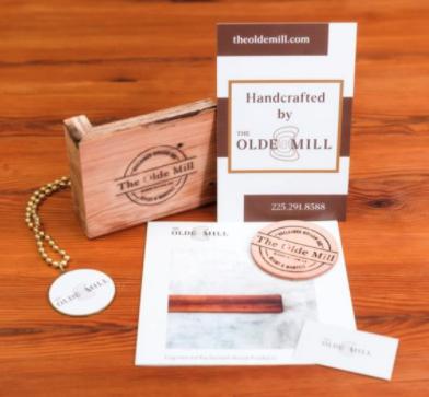 Free Sample of reclaimed, engineered wood