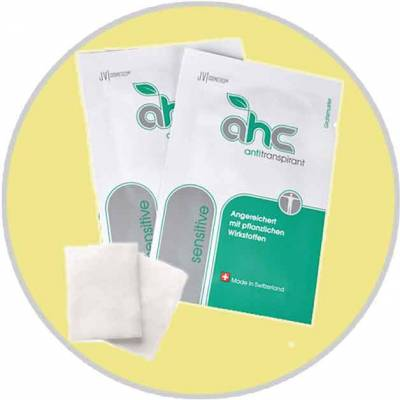 Free Sample of AHC Anti Transpirant