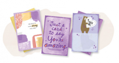 Free 3 Card Pack from Hallmark