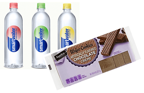 FREE Signature SELECT Wafer Cookies and Smartwater+ at Albertsons and Affiliate Stores