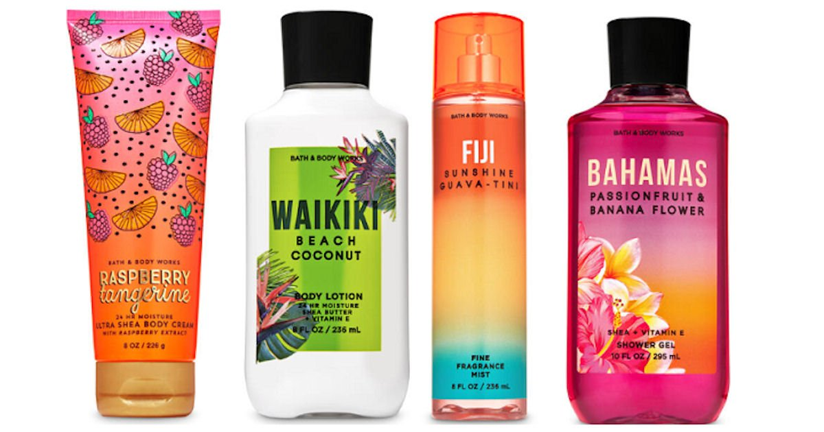 Free Full-Size Body Care Item at Bath & Body Works