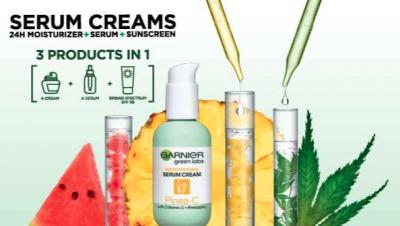 Free Sample of Garnier Green Labs Serum Cream