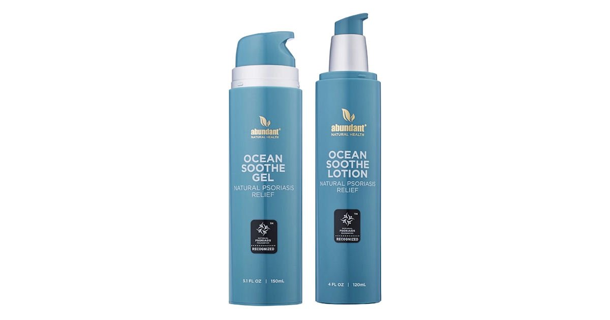 Free Abundant Natural Health Ocean Soothe Gel & Lotion Samples