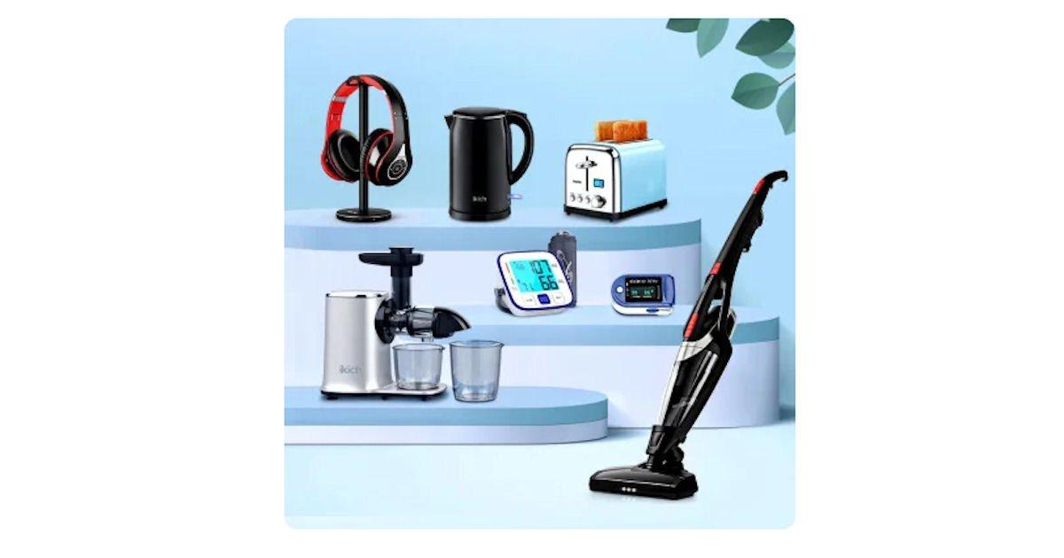 Free HoLife Juicer, Toaster, Vacuum, Headphones & More