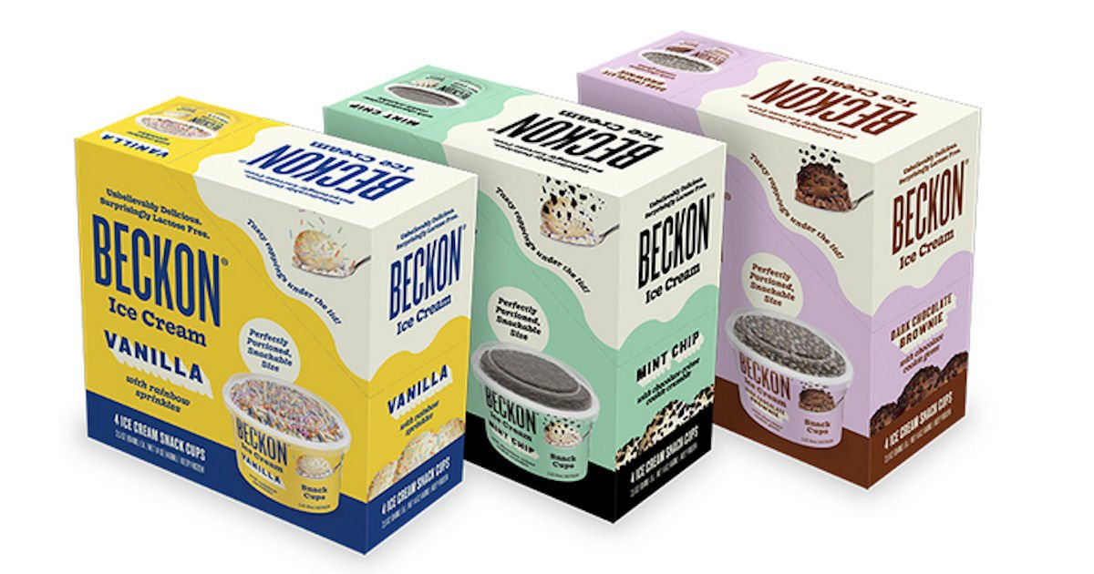 Free Beckon Ice Cream Snack Cups