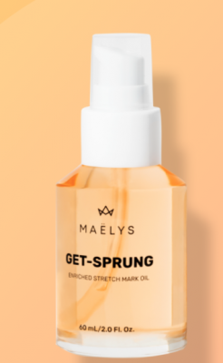 Free Sample of GET-SPRUNG - Enriched Stretch Mark Oil