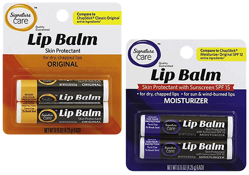 FREE 2-pk of Signature Care Lip Balm at Albertsons and Affiliate Stores