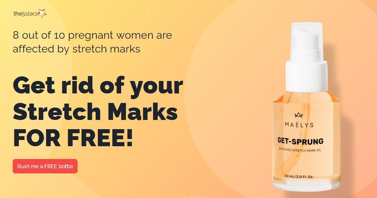 Free Maelys Stretch Mark Oil