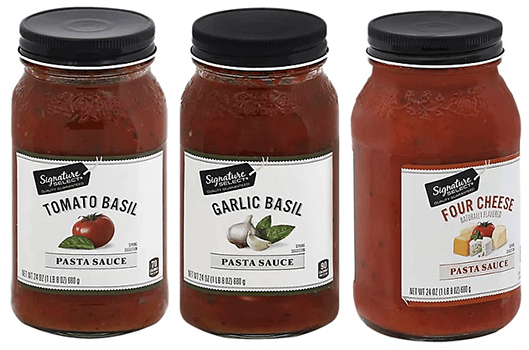 FREE Signature Select Pasta Sauce at Albertsons and Affiliate Stores