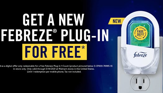 FREE Febreze Plug-In at Walmart (Update)