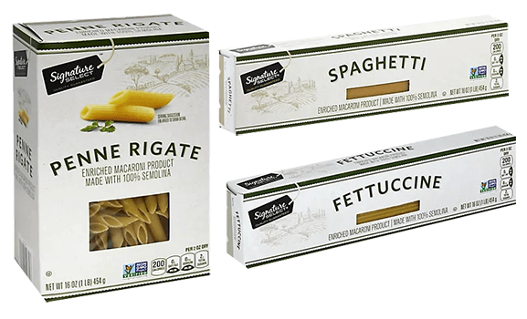 FREE Signature Select Pasta at Albertsons and Affiliate Stores