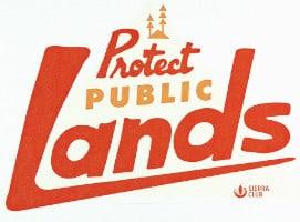 FREE Protect Public Land Sticker