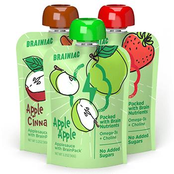 FREE Brainiac Applesauce Squeezers at Walmart