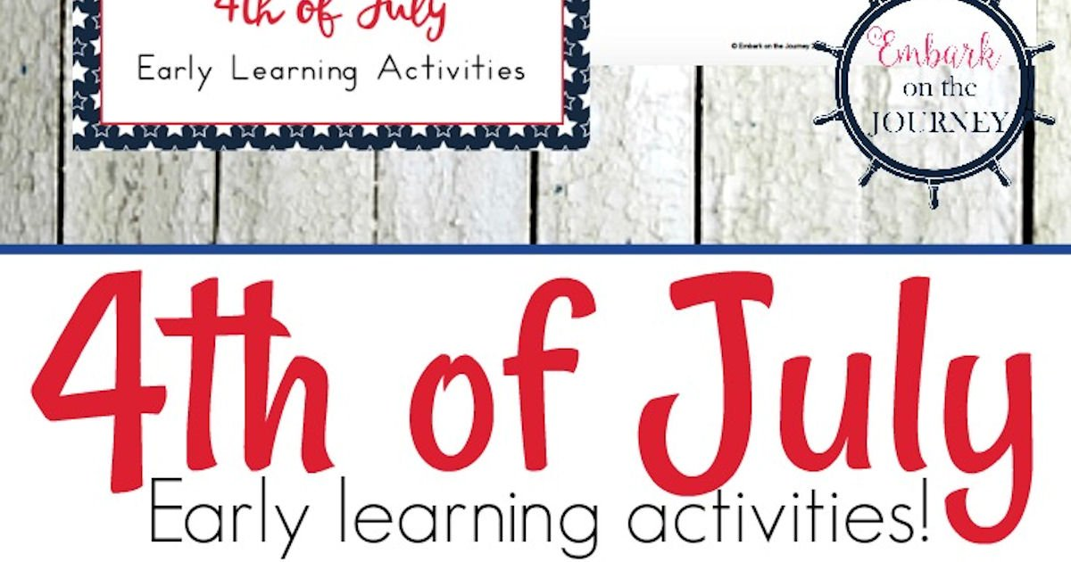 Free 4th of July Printable Activity Pack for Kids