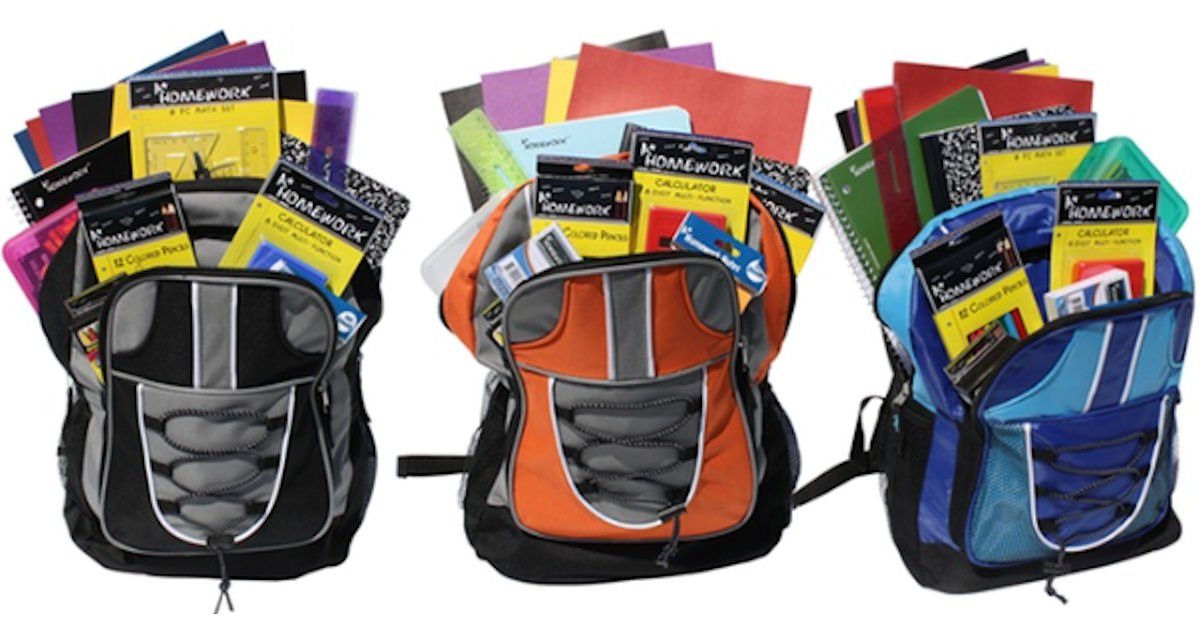 Free TCC Stores Backpack & School Supplies on Aug. 1st