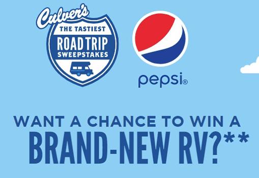 Culver's 'Tastiest Road Trip' Instant Win Game (1,560 Winners!)