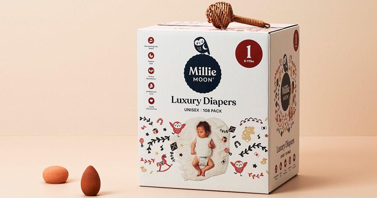 Free Millie Moon Diaper Samples