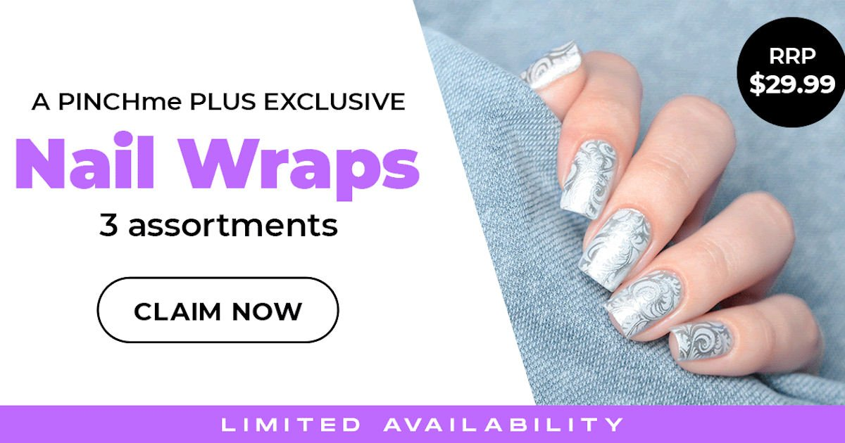 Possible Free 3-Pack Assortment Set of Nail Wraps