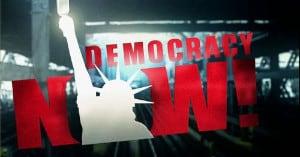 FREE Democracy Now Sticker