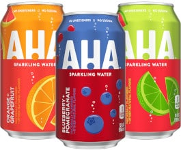 FREE Aha Sparkling Water at Giant Eagle Stores