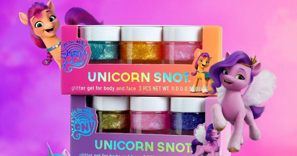 Free My Little Pony Unicorn Snot Glitter Gel