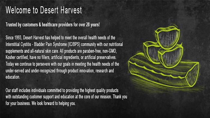 FREE Desert Harvest Aloe Vera Capsules Sample