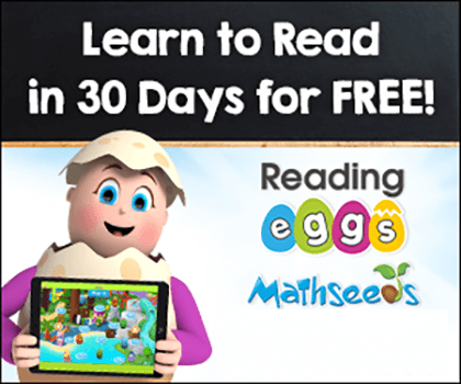 FREE 30‑DAY Trial of Reading Eggs