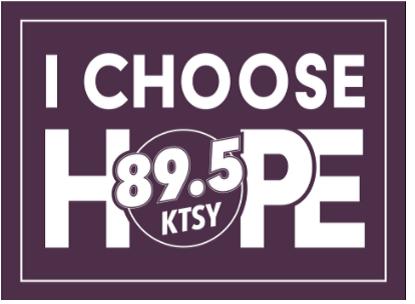 FREE KTSY I Choose Hope Bumper Sticker