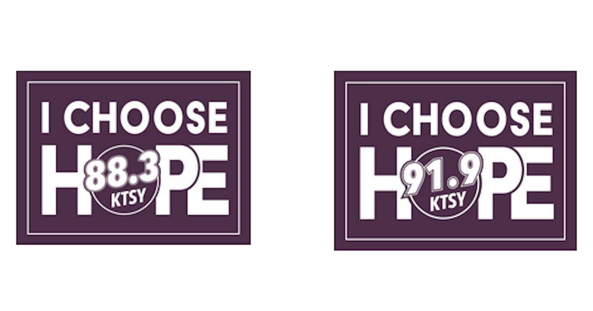 Free I Choose Hope Bumper Sticker
