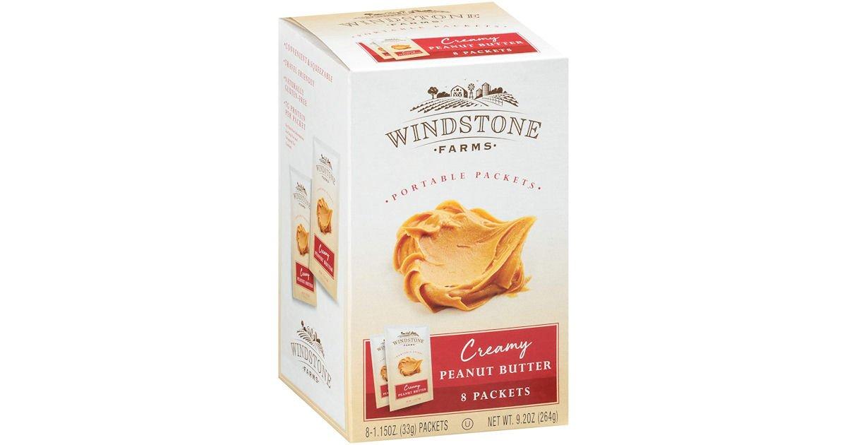 Free Windstone Farms Creamy Peanut Butter at Walmart