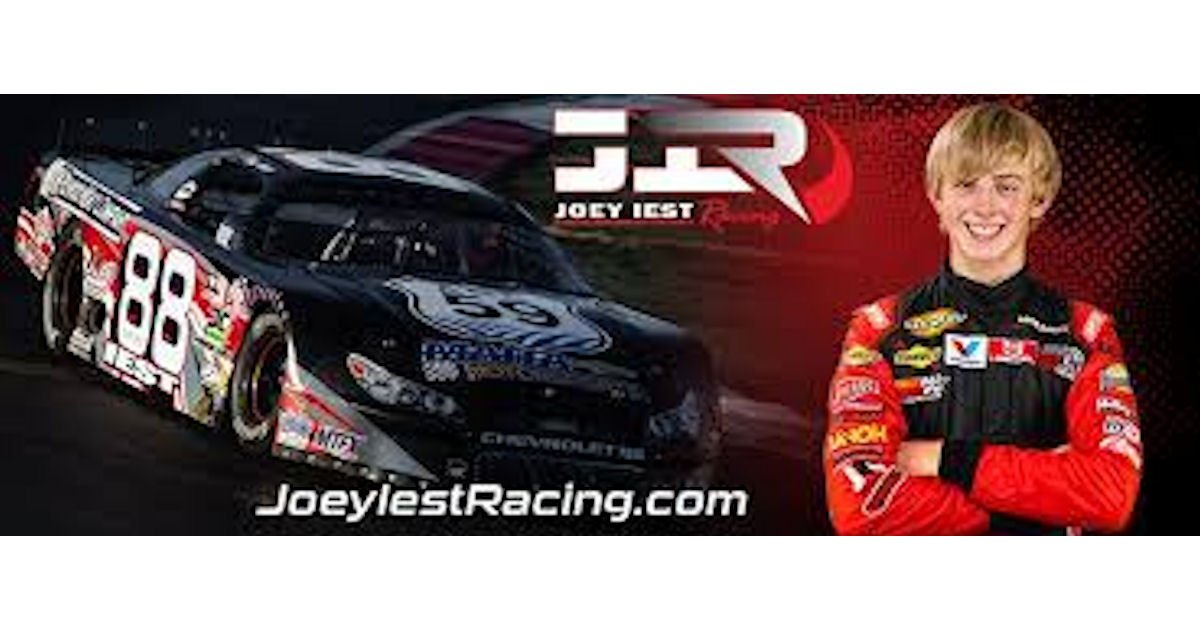 Free Joey Lest Autographed Racing Hero Card