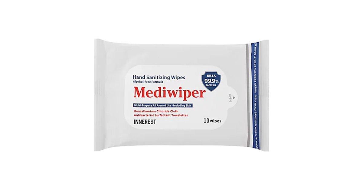 Free Mediwiper Hand Sanitizer Wipes at Safeway