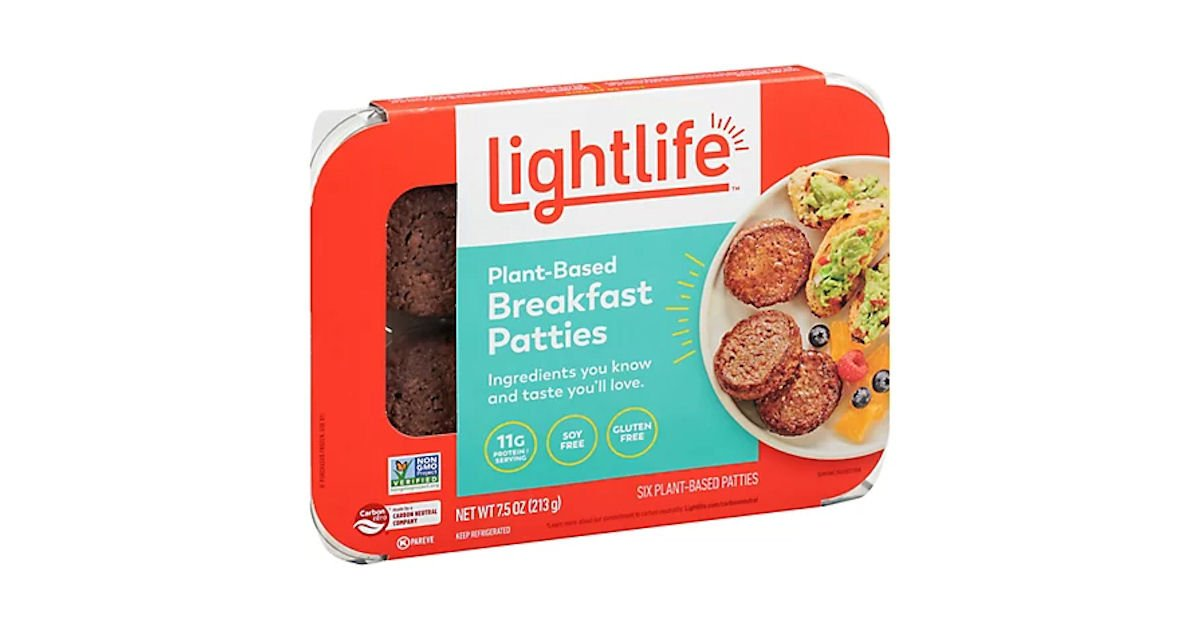 Free Lightlife Breakfast Patties & Links at Walmart