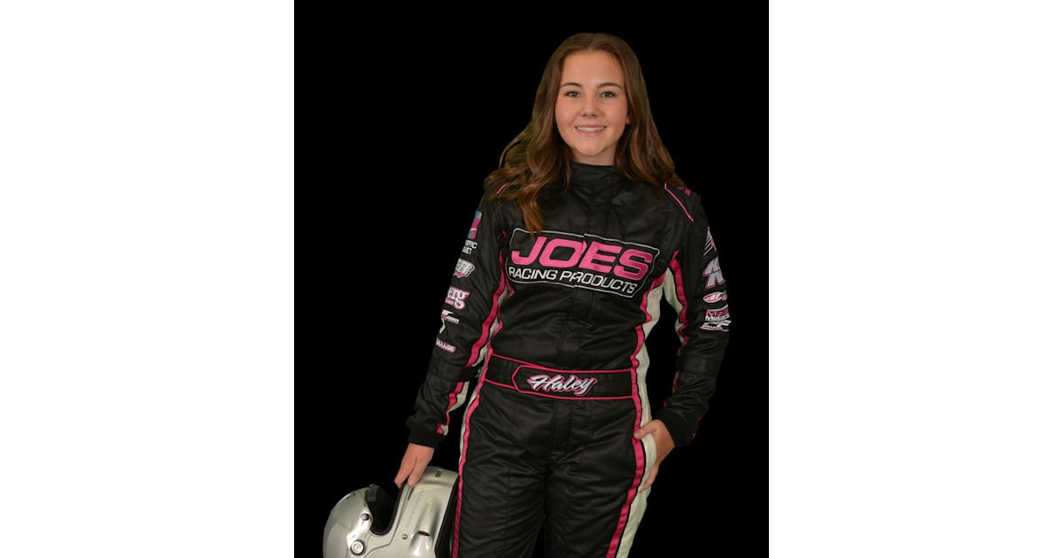 Free Haley Constance Autographed Racing Hero Card