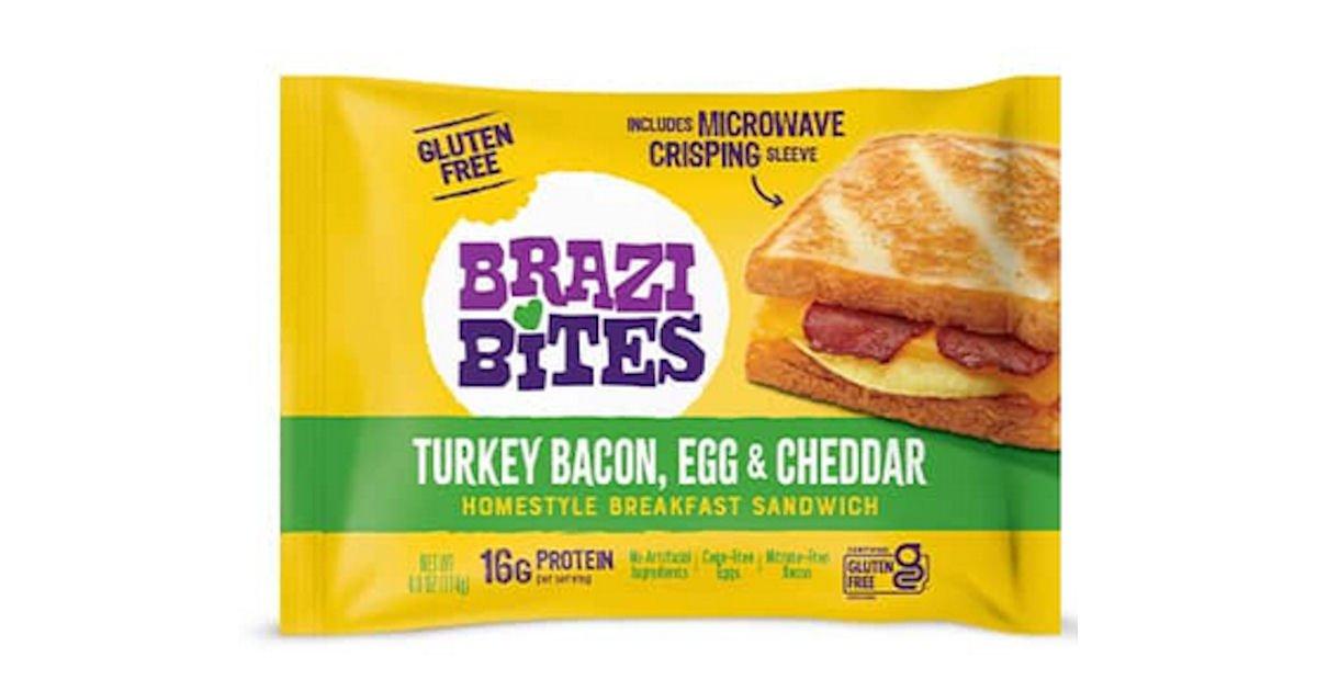 Free Brazi Bites Homestyle Breakfast Sandwiches